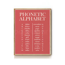 The chart represents british and american phonemes with one symbol. Phonetic Alphabet Art Print Looksugar