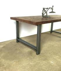 industrial style coffee table legs how to make an industrial coffee table style legs home interior