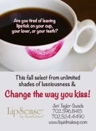 no lipstick on your cup not with lipsense oh and did i mention kissing semi permanent makeuplong