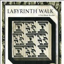 Labyrinth Walk Quilt Pattern Unique Labyrinth Walk Quilt Pattern Queen Size By The Guilty Quilter Etsy