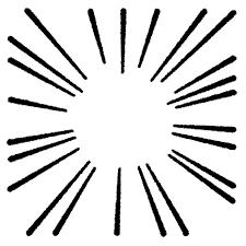 いろいろな集中線のイラスト かわいいフリー素材集 いらすとや