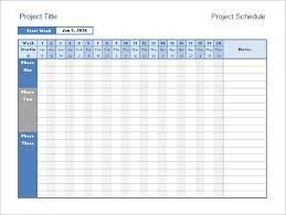 Excel Calendar Timeline Calendar Template 2019