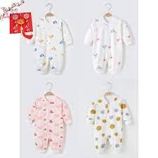 Quần áo sơ sinh mùa đông Bộ bodysuit cotton cho bé 0-1 tuổi trai gái tại Hà  Nội