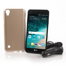 lg x style. lg 5\u201d 4g tracfone with triple minutes lg x style r