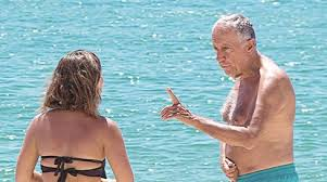 Presidente Marcelo é rei das 'selfies' na praia - a Ferver - Vidas