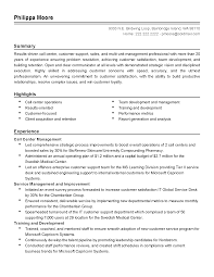Customer Service Resume Job Description Best of Professional Call Center Management Templates To Showcase Your