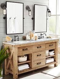 wood bathroom vanity. 17 DIY Vanity Mirror Ideas To Make Your Room More Beautiful Wood Bathroom Pinterest