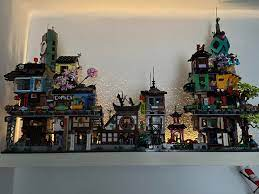 Finally finished Ninjago City Gardens and added to the collection: lego