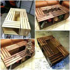 packing crate furniture. Packing Crate Furniture Coffee Table Catchy Rustic With Pallet Wood And . T