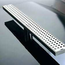 shower floor drain cover grates stainless steel long linear grate round plastic square