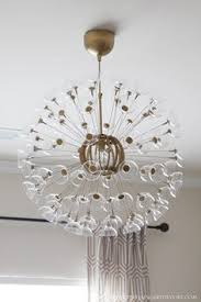 ikea lighting chandeliers. The Other Day I Mentioned That Was Working On A Little Makeover For This IKEA MASKROS Pendant Lamp. I\u0026 Loved Sputnik Chandeliers For. Ikea Lighting P
