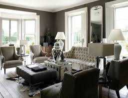 decoration rustic living room ideas with chesterfield sofa and wingback chairs also bay window