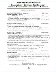 Sample Resume For Software Tester Fresher Best Of Sample Resume For