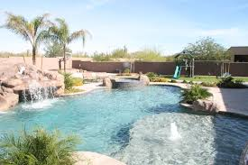 Unique Swimming Pool Designs Freeform Lagoon Style Pool In Scottsdale Az By Unique