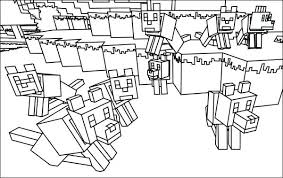 Minecraft Coloring Pages Printable Coloring Pages Minecraft Wolf