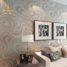 Red Wallpaper Designs For Living Room Aliexpresscom Buy High Quality 95m053m 3d Embossed Flocking