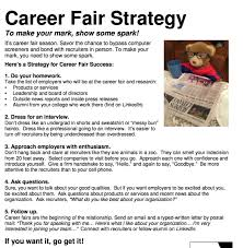 Etiquette Tip Of The Week Career Fair Strategy Career Center
