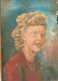 painted in 1940 when the owners got married and then lost for more than fifty years a pleasure to see customers so excited