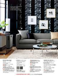 Cb2 Round Coffee Table Cb2 January Catalog 2016 Page 18 19