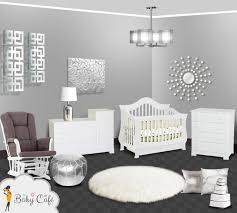 modern baby nursery furniture. Silver Modern Baby Nursery Furniture A