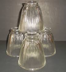 4 clear glass ceiling fan globe light shade vanity replacement 1 of 4free