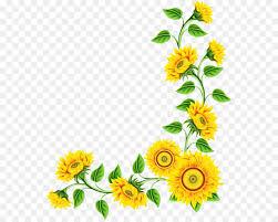 sunflower clip art png 600