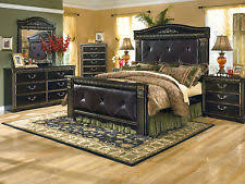 Ashley Furniture B175 Coal Creek   Traditional Queen King Poster Bed  Bedroom Set