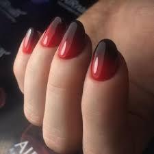 černé A červené Vzory Na Nehty Foto 2018 2019 Nové Možnosti Módní Styl