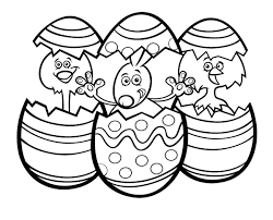 Easter Printable Coloring Pages Fun Spring Themed Printables For The