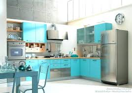 blue kitchen appliances teal ideas idea of the day a modern with 6 cobalt duck egg