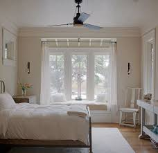 bedroom trendy kids bedroom decorating ideas for bay window with single white sofa bed featured