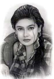 gil ramírez del carbón de leña de pintura de retrato - Gil_Ramirez_charcoal_portrait_painting