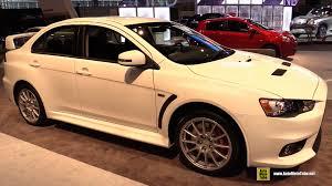 mitsubishi evo 2013 interior. 2015 mitsubishi lancer evolution gsr exterior and interior walkaround chicago auto show youtube evo 2013