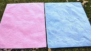 Quilting With Minky Fabric & Blue and Pink Minky Quilts, on Craftsy via Craft Sew Create Adamdwight.com