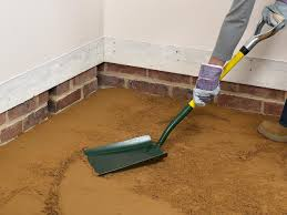 Poured Concrete Kitchen Floor How To Install A Concrete Floor How Tos Diy