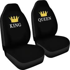 queen his and hers car seat covers