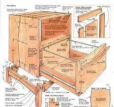 wood file cabinet plans. Synopsis: Pat Warner Softened The Lines Of File Cabinet He Built By Adding A Separate Base With Shaped Legs And Using Triangle Theme. Wood Plans R