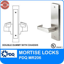 Grade 1 Double Dummy With Chassis Pdq Mr206 J Escutcheon Trim