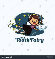 Fairy Logo Design Tooth Fairy Logo Design Template Fun Stock Vector Royalty