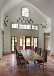 dining room tile flooring. saltillo tile floors \u2013 indoor and outdoor flooring with a character dining room