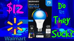 Blue Light Bulbs Walmart 12 Smart Wi Fi Led Bulbs From Walmart Do They Suck