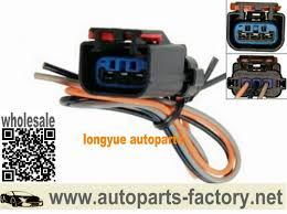 longyue 10pcs ignition coil connector wiring harness case for wells dodge caravan grand caravan 1998