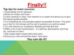 english gcse revision tips 17