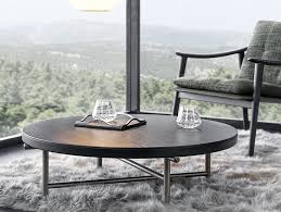 torii round coffee table by minotti
