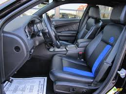 Black/Mopar Blue Interior 2011 Dodge Charger R/T Mopar '11 Photo ...
