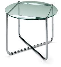 topic to black leather barcelona chairs by mies van der rohe around glass table knoll coffee d