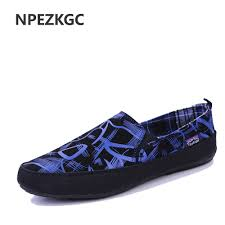 <b>Men</b> Shoes <b>2017 Summer</b> Loafers New <b>Breathable</b> Canvas Shoes ...