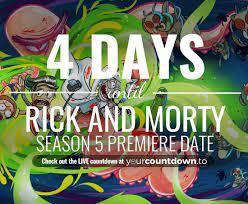 Rick and Morty Season 5 Premiere Date ...