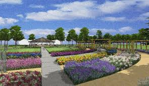 volunteers of clark county started working on a landscape design master plan for the relocation of their demonstration teaching and display gardens