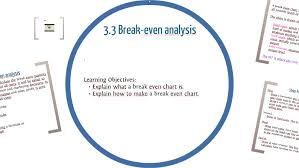 How To Make A Break Even Analysis 3 3 Break Even Analysis Colin Nicholson By Colin Nicholson On Prezi